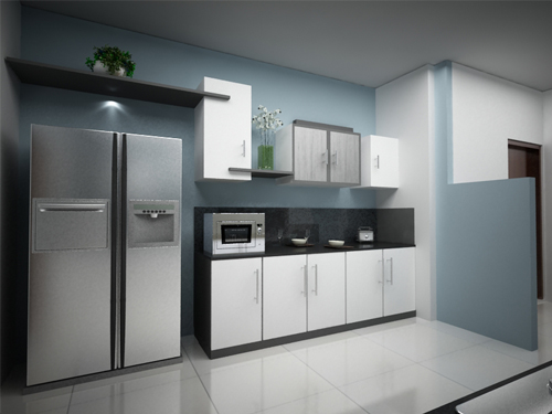 Kitchen Room Interior Design Style: