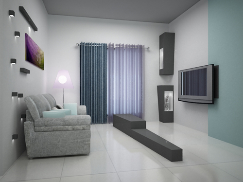 Entertainment Room Interior Designs Style